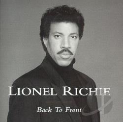 Richie, Lionel - Back To Front CD Cover Art