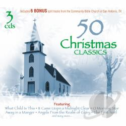 Anderson, Steven - 50 Christmas Classics CD Cover Art