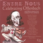 London Philharmonic - Entre Nous: Celebrating Offenbach CD Cover Art