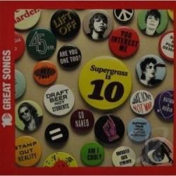 Supergrass - Ten Of The Best CD Cover Art