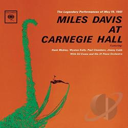 Davis, Miles - Miles Davis at Carnegie Hall CD Cover Art