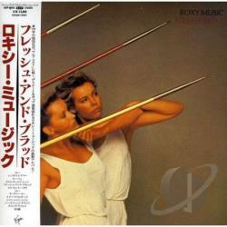 Roxy Music - Flesh & Blood CD Cover Art