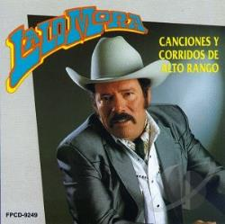 Mora, Lalo - Canciones Y Corridos CD Cover Art