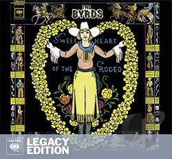 Byrds - Sweetheart of the Rodeo CD Cover Art