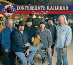 Confederate Railroad - Cheap Thrills CD Cover Art
