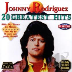 Rodriguez, Johnny - 20 Greatest Hits CD Cover Art