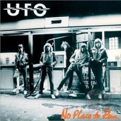 U.F.O. - No Place to Run LP Cover Art