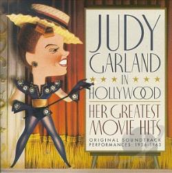 Garland, Judy - Judy Garland in Hollywood: Her Greatest Movie Hits CD Cover Art