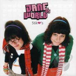 Jane vs World - 56K Hearts CD Cover Art