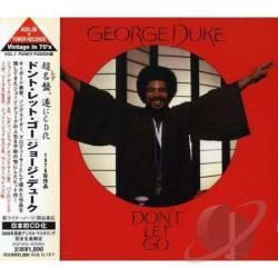 Duke, George - Dont Let Go CD Cover Art