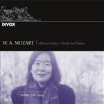 Atsuko Seki / Mozart - Mozart: Works for Piano CD Cover Art