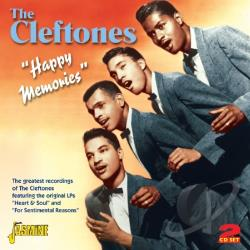 Cleftones - Happy Memories: The Greatest Recordings of the Cleftones CD Cover Art