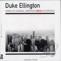Ellington, Duke - Complete Original American Decca Recordings CD Cover Art