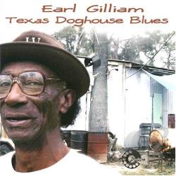 Gilliam, Earl - Texas Doghouse Blues CD Cover Art