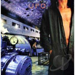 U.F.O. - Lights Out LP Cover Art