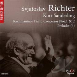 Rachmaninov / Richter / Sanderling - Rachmaninov: Piano Concertos Nos. 1 & 2; Preludes (4) CD Cover Art