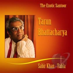 Bhattacharya, Tarun / Khan, Sabir - Exotic Santoor CD Cover Art