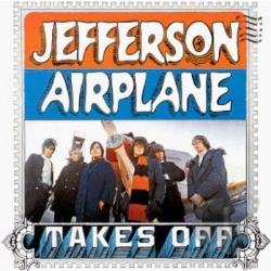 Jefferson Airplane - Takes Off CD Cover Art
