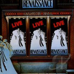 Renaissance - Live at Carnegie Hall CD Cover Art