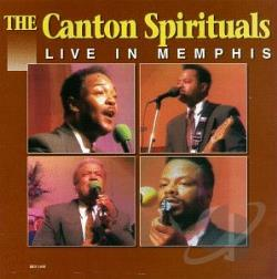 Canton Spirituals - Live In Memphis LP Cover Art