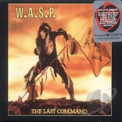 W.A.S.P. - Last Command CD Cover Art