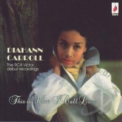 Carroll, Diahann - This Is What I Call Love CD Cover Art