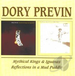 Previn, Dory - Mythical Kings and Iguanas/Reflections in a Mud Puddle CD Cover Art