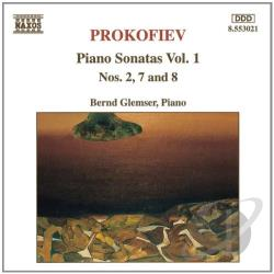 Glemser / Prokofiev - Prokofiev: Piano Sonatas, Vol. 1 CD Cover Art