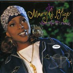 Blige, Mary J. - What's the 411? Remix CD Cover Art