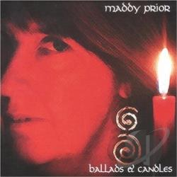 Prior, Maddy - Ballads and Candles CD Cover Art