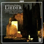 Banse / Brahms / Deutsch / Schmidt - Brahms: Lieder , Vol. 5 CD Cover Art