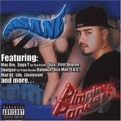 M-Sane - Pimpin' & Panderin' CD Cover Art