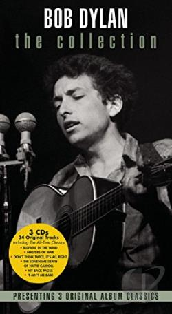 Dylan, Bob - Collection, Vol. 2: Freewheelin' Bob Dylan/Times They Are A - Changin'/Another Side CD Cover Art