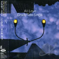 Tate, Grady - All Love -Grady Tate Sings CD Cover Art