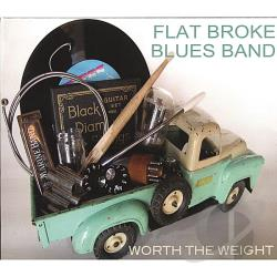 Flat Broke Blues Band - Worth the Weight CD Cover Art
