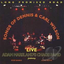 Marsland, Adam - Long Promised Road: Songs Of Dennis & Carl Wilson Live CD Cover Art