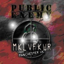 Public Enemy - Revolverlution Tour 2003 Manchester CD Cover Art