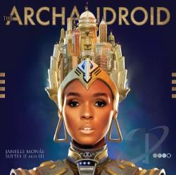 Monae, Janelle - ArchAndroid CD Cover Art
