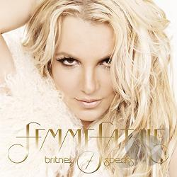 Spears, Britney - Femme Fatale CD Cover Art