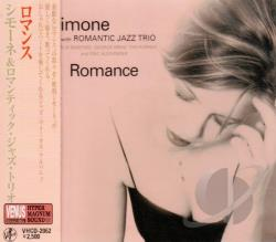 Simone - Romance with Romantic Jazz Trio CD Cover Art