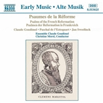Ensemble Claude Goudimel / Morel - Psalms of the French Reformation CD Cover Art
