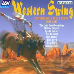 Western Swing: Hot Hillbilly Jazz & Blues 1935-1947 CD Cover Art