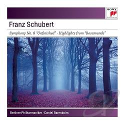 Barenboim, Daniel - Schubert: Symphonies No. 3 & No. 8 CD Cover Art