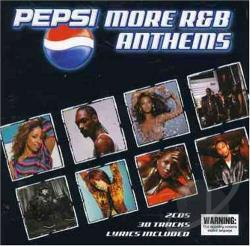 Pepsi: More R&B Anthems CD Cover Art