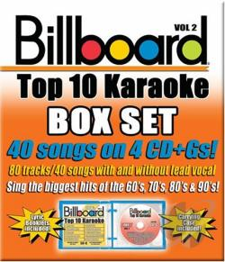 Karaoke - Billboard Top 10 Karaoke, Vol. 2 CD Cover Art