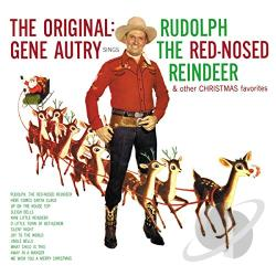 Autry, Gene - Rudolph the Red-Nosed Reindeer CD Cover Art