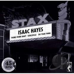 Hayes, Isaac - Theme From Shaft/Soulsville/Do Your Thing LP Cover Art