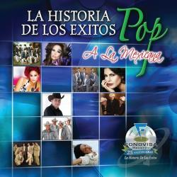 La Historia De Los Exitos: Exitos Pop A La Mexicana CD Cover Art