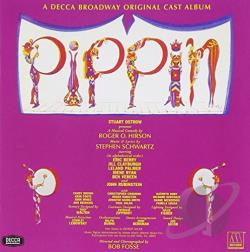 Original Broadway Cast / Original Soundtrack / Vereen, Ben - Pippin CD Cover Art