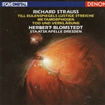 Blomstedt - Strauss: Metamorphosen, Death & Transfiguration / Blomstedt CD Cover Art